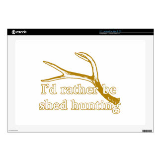 Rather be shed hunting laptop skins