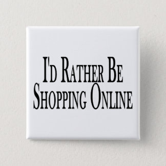 Rather Be Shopping Online Button
