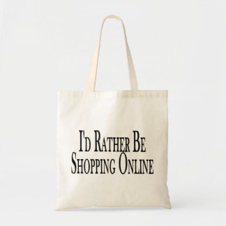 Rather Be Shopping Online Tote Bag
