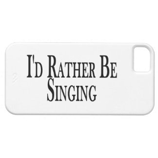 Rather Be Singing iPhone SE/5/5s Case