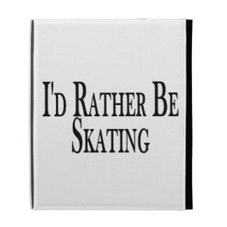 Rather Be Skating iPad Folio Case