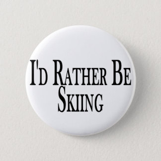 Rather Be Skiing Button