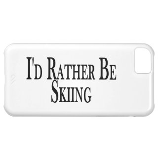 Rather Be Skiing Cover For iPhone 5C