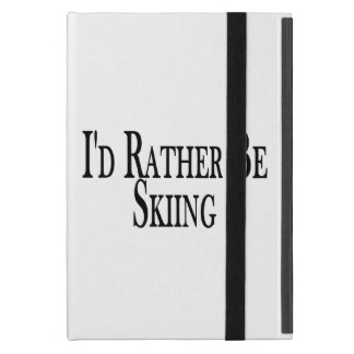Rather Be Skiing iPad Mini Cases