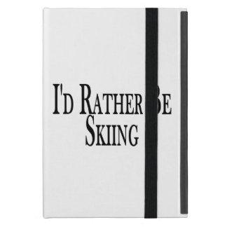 Rather Be Skiing iPad Mini Cases