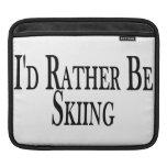 Rather Be Skiing iPad Sleeves