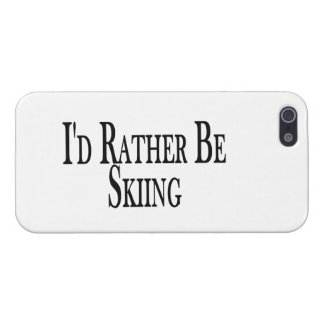 Rather Be Skiing iPhone SE/5/5s Case