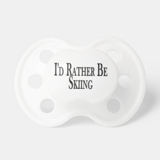 Rather Be Skiing Pacifier