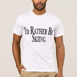 Rather Be Skiing Tee Shirt