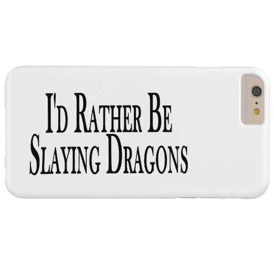 Rather Be Slaying Dragons Case-Mate Blackberry Case