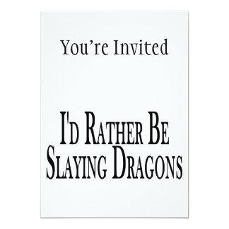Rather Be Slaying Dragons Custom Invites