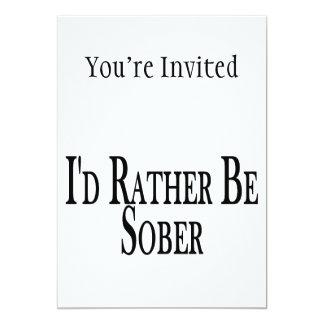 Rather Be Sober Card