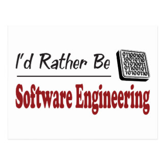 Rather Be Software Engineering Postcard