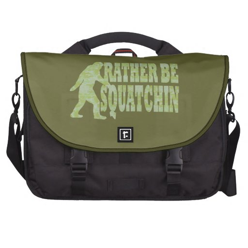 Rather be squatchin commuter bags