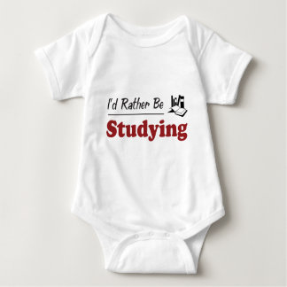 Rather Be Studying Baby Bodysuit