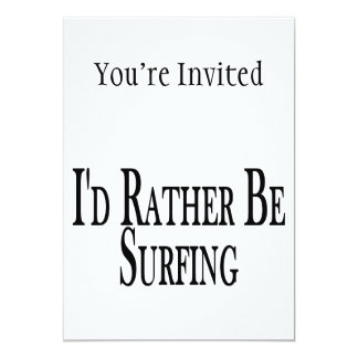 Rather Be Surfing Card