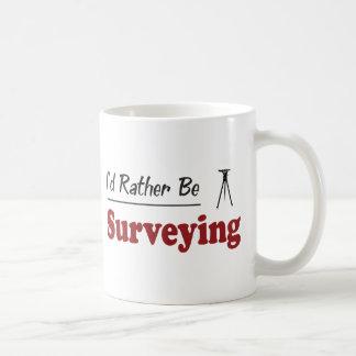 Rather Be Surveying Classic White Coffee Mug
