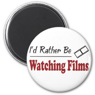 Rather Be Watching Films Refrigerator Magnets