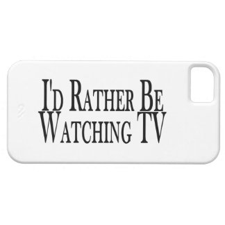 Rather Be Watching TV iPhone SE/5/5s Case