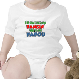 Rather Be With Papou Bodysuits