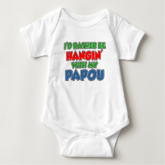 Rather Be With Papou Infant Creeper