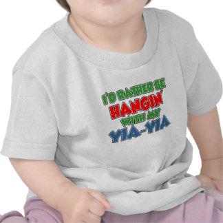 Rather Be With Yia-Yia Tee Shirt