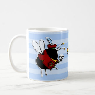 rather bee acting classic white coffee mug