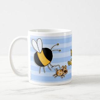 rather bee walking my dog coffee mug