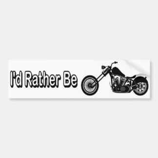 Rather Bumper Sticker