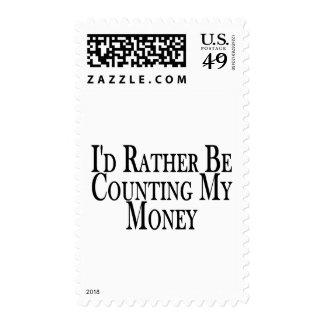 Rather Count Money Postage
