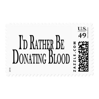 Rather Donate Blood Postage