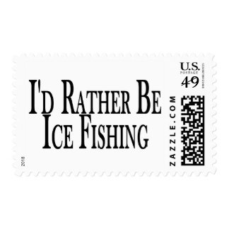 Rather Ice Fish Postage
