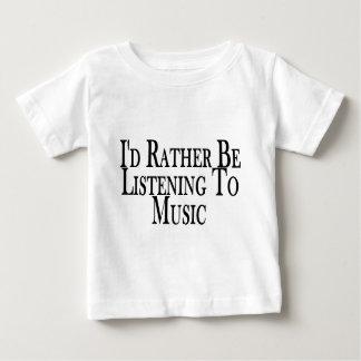 Rather Listen To Music T Shirt