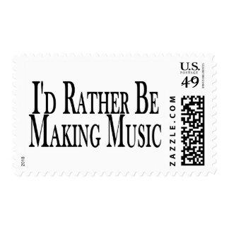 Rather Make Music Postage