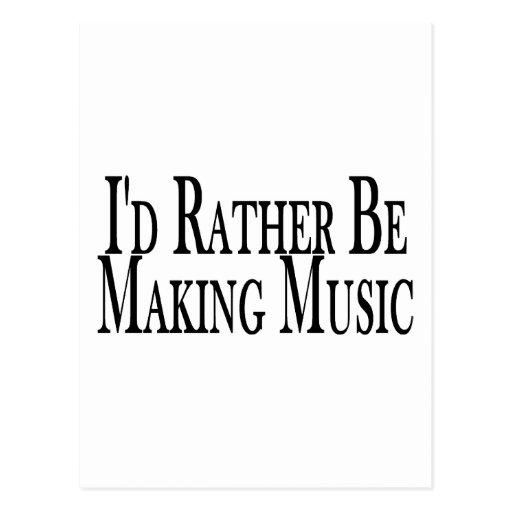Rather Make Music Postcards