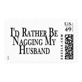 Rather Nag Husband Postage