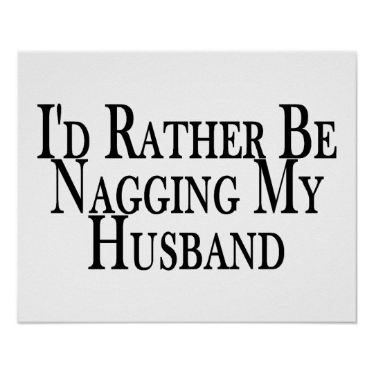 Rather Nag Husband Poster