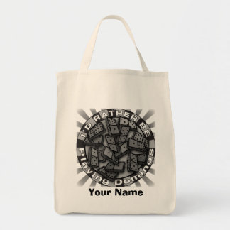 Rather Play Dominoes Tote Bag