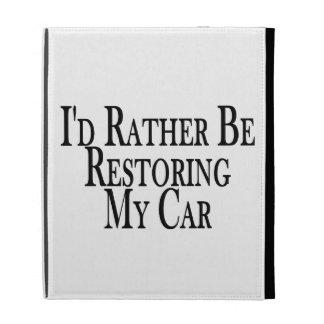 Rather Restore Car iPad Folio Cases