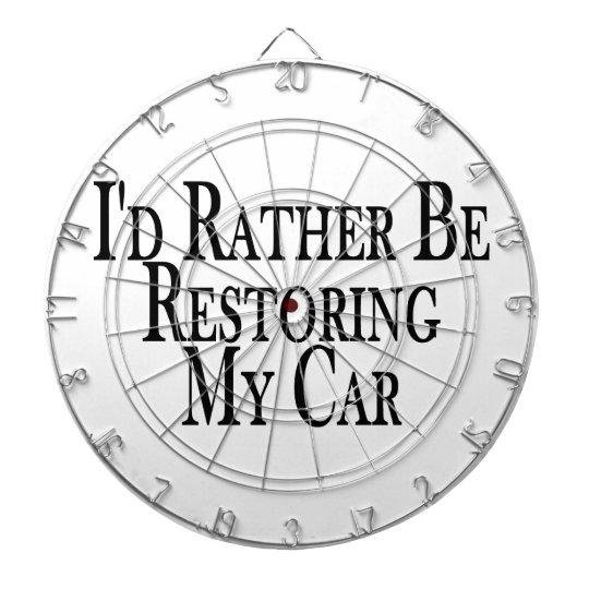 Rather Restore Car Dart Board