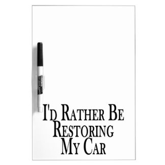 Rather Restore Car Dry Erase Board