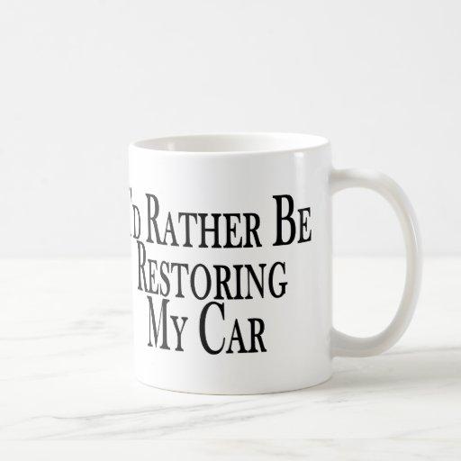 Rather Restore Car Mugs