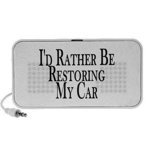 Rather Restore Car Notebook Speakers
