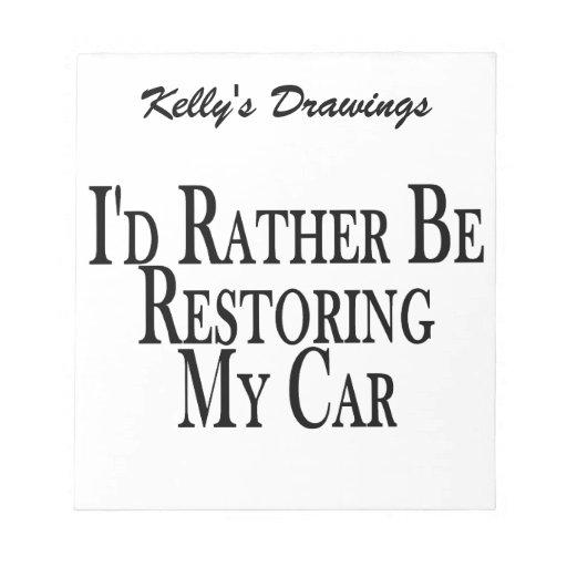 Rather Restore Car Scratch Pads