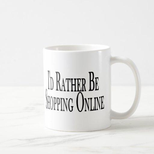 Rather Shop Online Coffee Mug Zazzle