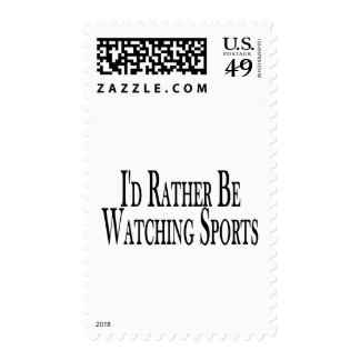 Rather Watch Sports Postage