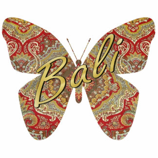 Ratih Paisley Butterfly Magnet