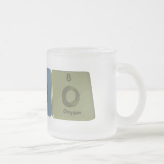 Ratio-Ra-Ti-O-Radium-Titanium-Oxygen.png Frosted Glass Coffee Mug