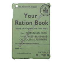 ration book  cover for the iPad mini