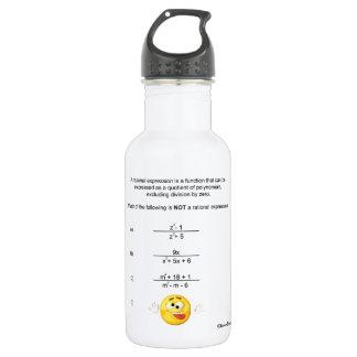 Rational Expression 18oz Water Bottle